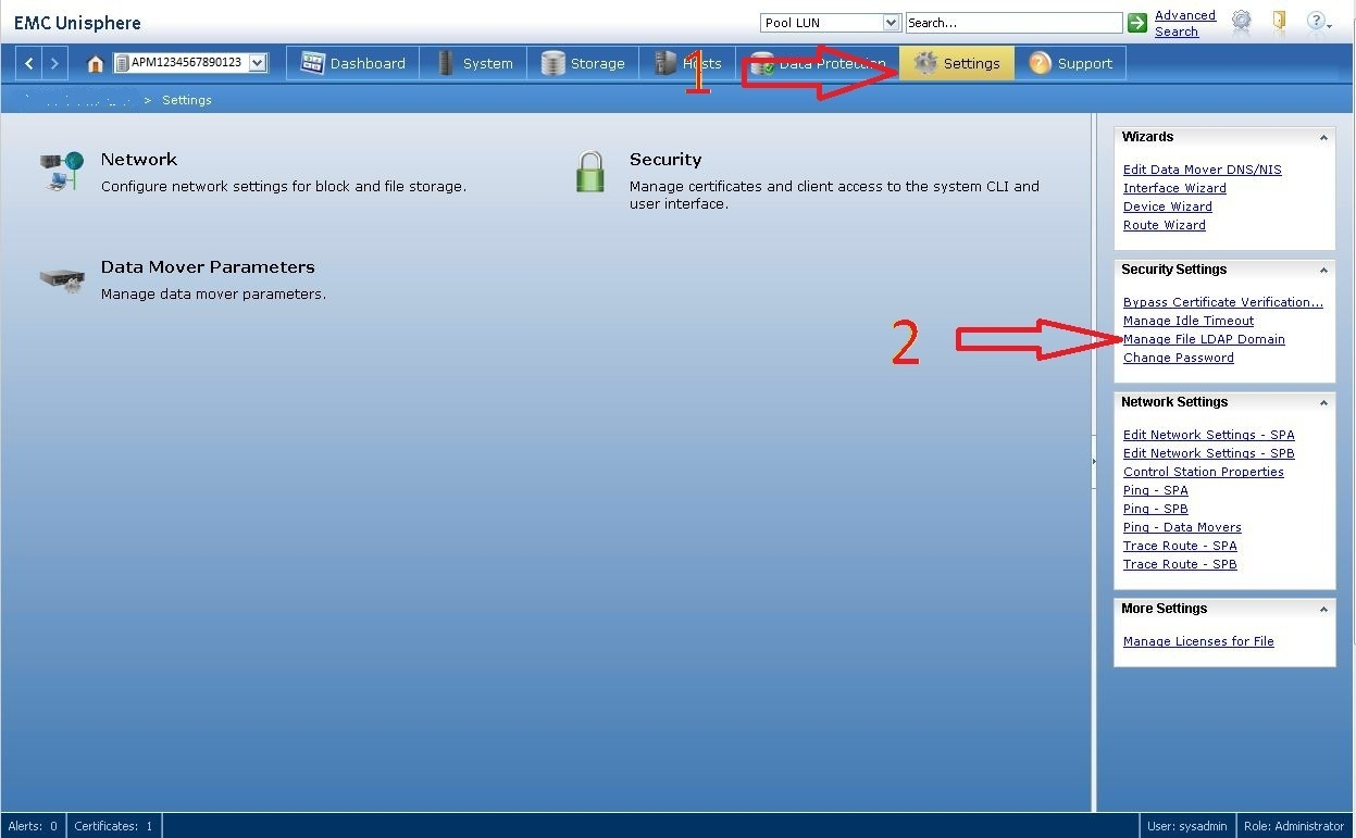 Configuring Ldap Authentication For Unisphere On The Vnx